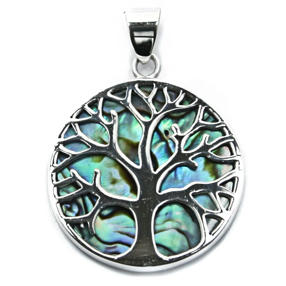 Tree of life yggdrasill silver abalone pendant p078 tree of life yggdrasill silver abalone pendant p078 mozeypictures Image collections