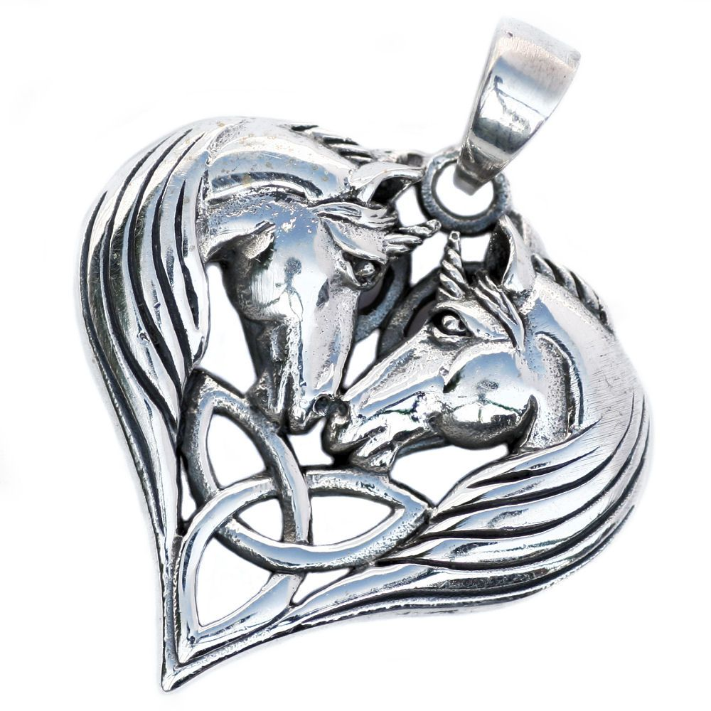 Unicorns heart celtic silver pendant p071 unicorns heart celtic silver pendant p071 aloadofball Gallery